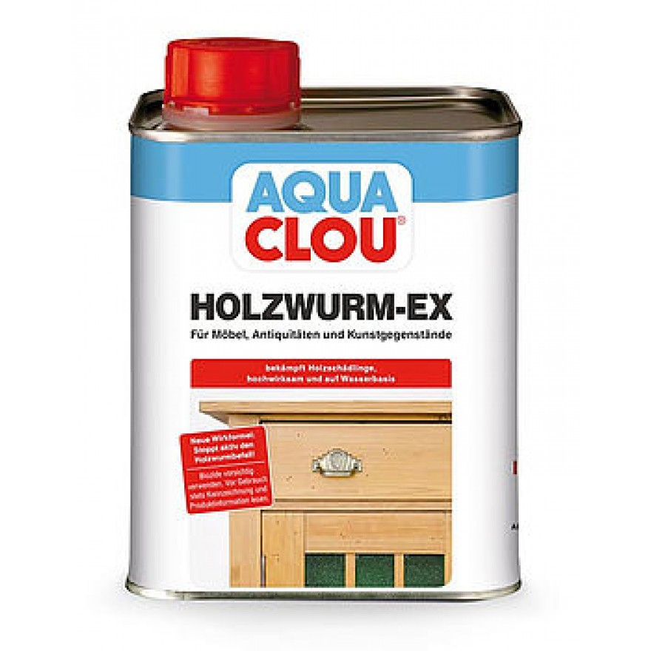 aqua clou holzwurm ex holzzerst rende insektenlarven wie. Black Bedroom Furniture Sets. Home Design Ideas