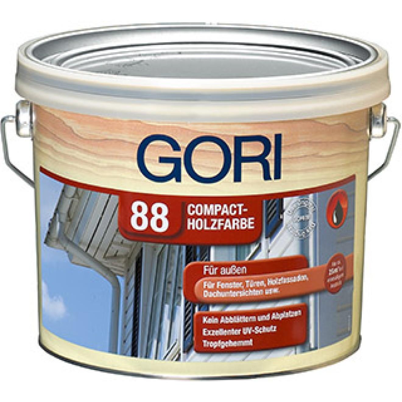 gori 88 compact holzsfarbe das original in deckender ausf hrung. Black Bedroom Furniture Sets. Home Design Ideas