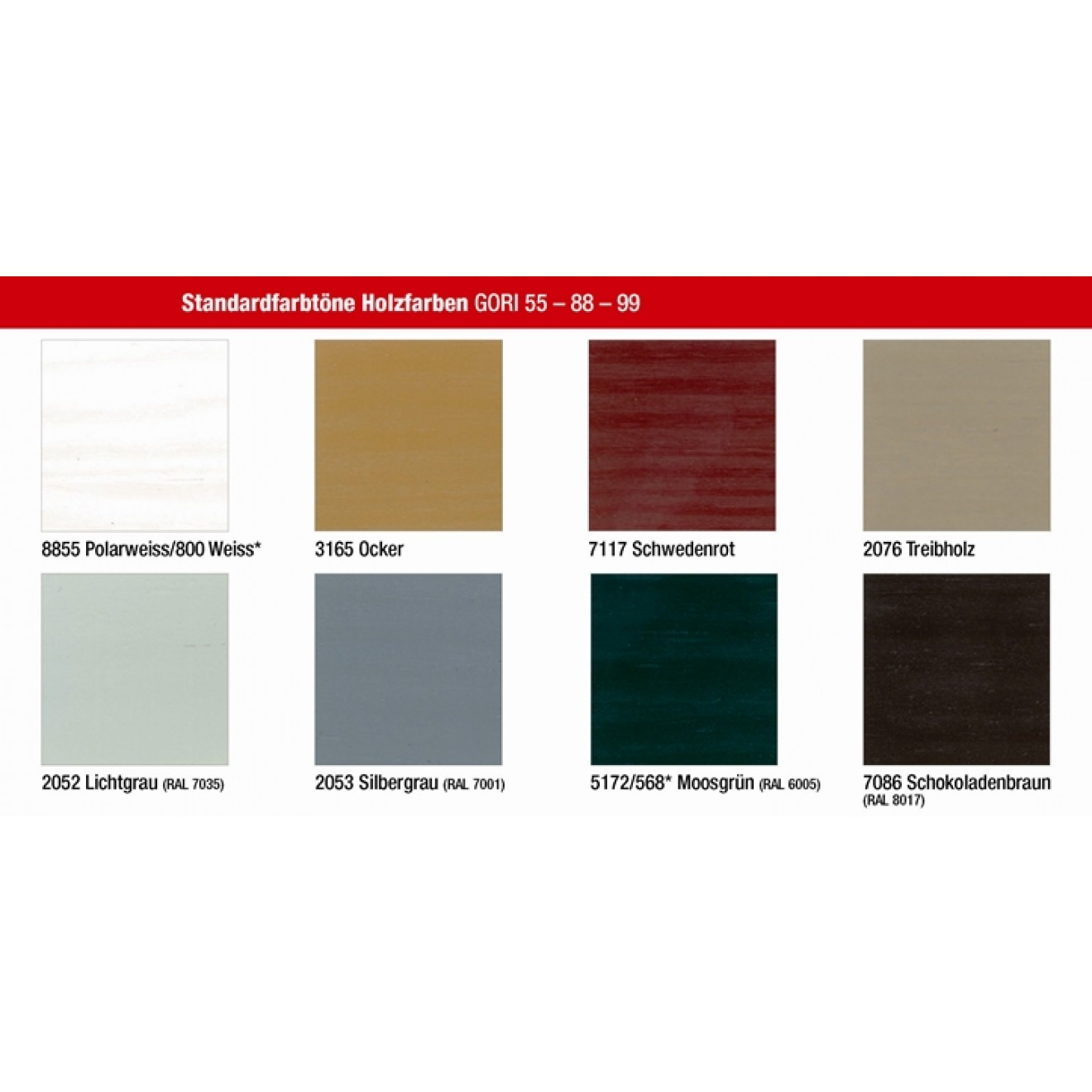 Fassadenfarbe lichtgrau  GORI 99 HOLZFASSADEN-FARBE günstig im Tischlereicenter.eu kaufen.